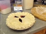 trippple berry pie