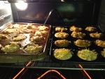 protein packed savory muffins